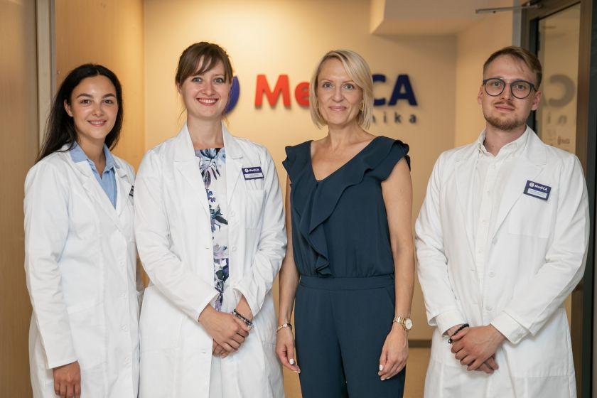 """Naujamiesčio gyventojai į duris atvėrusią """"MediCA kliniką"""" galės patekti be eilių"""